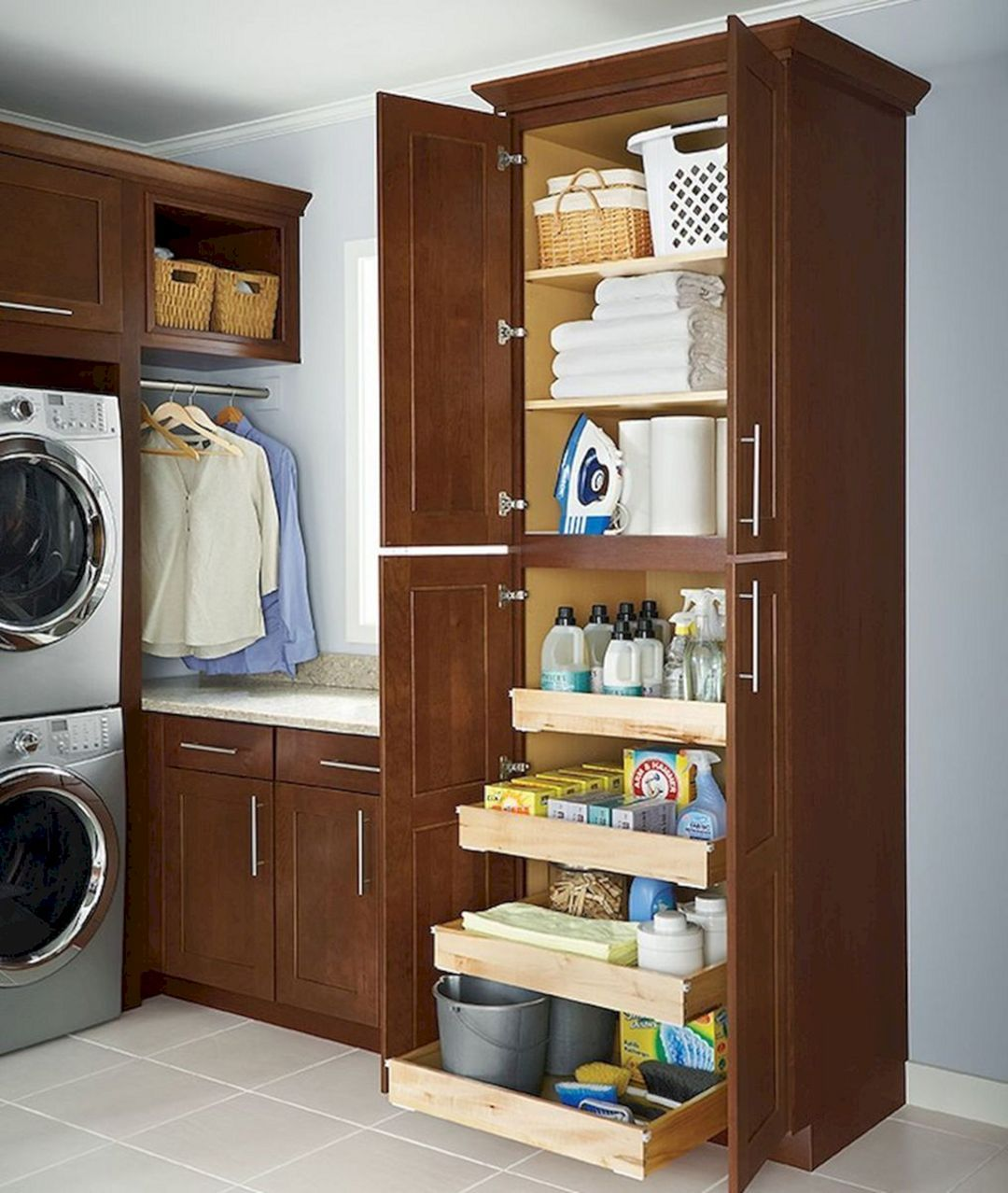 25 Creative Laundry Room Storage Design To Inspire You With Images Diy Laundry Room Storage Laundry Room Diy Laundry Room Layouts