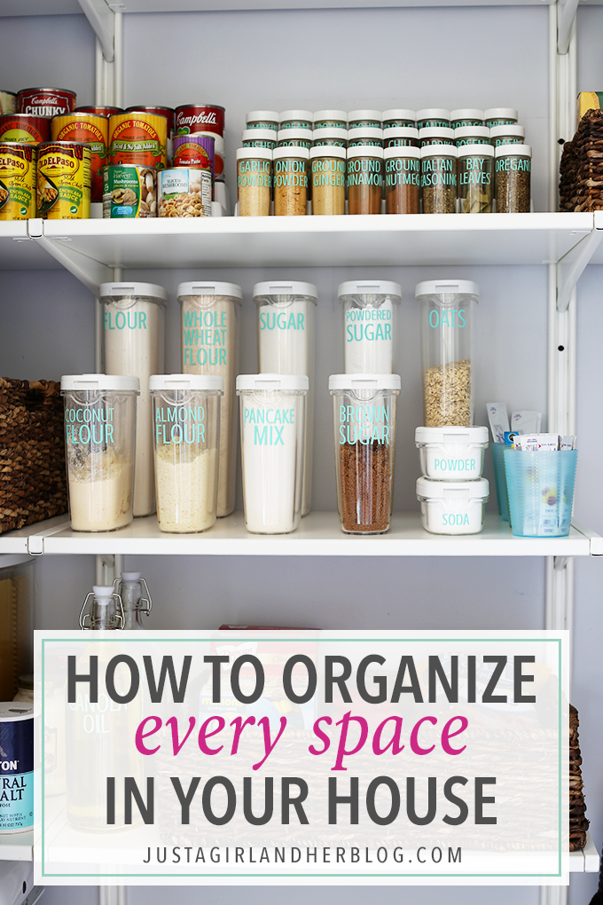 how to organize every space in your house - How To Organize Your Home