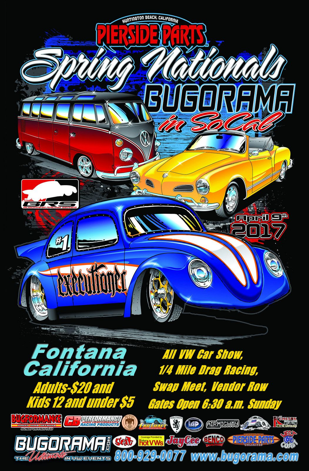 Spring Nationals Bugorama In So Cal April Th Fontana - Sacramento car show and swap meet