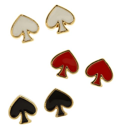 These Post Earrings Have Style In Spades...