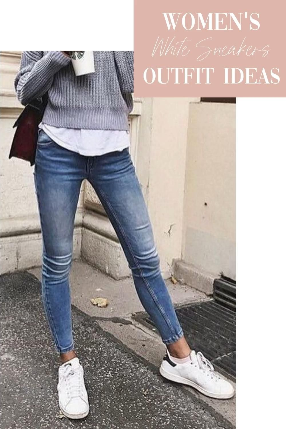 Photo of Women's White Sneakers Outfit Ideas | Sneakers Street Style | Chic Styles