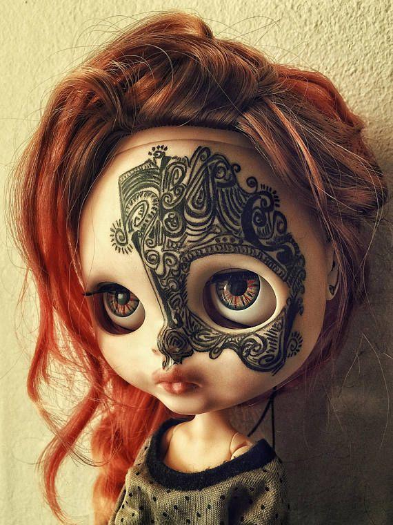Savage ~ Tribal Tattoo doll Blythe SMpVUz