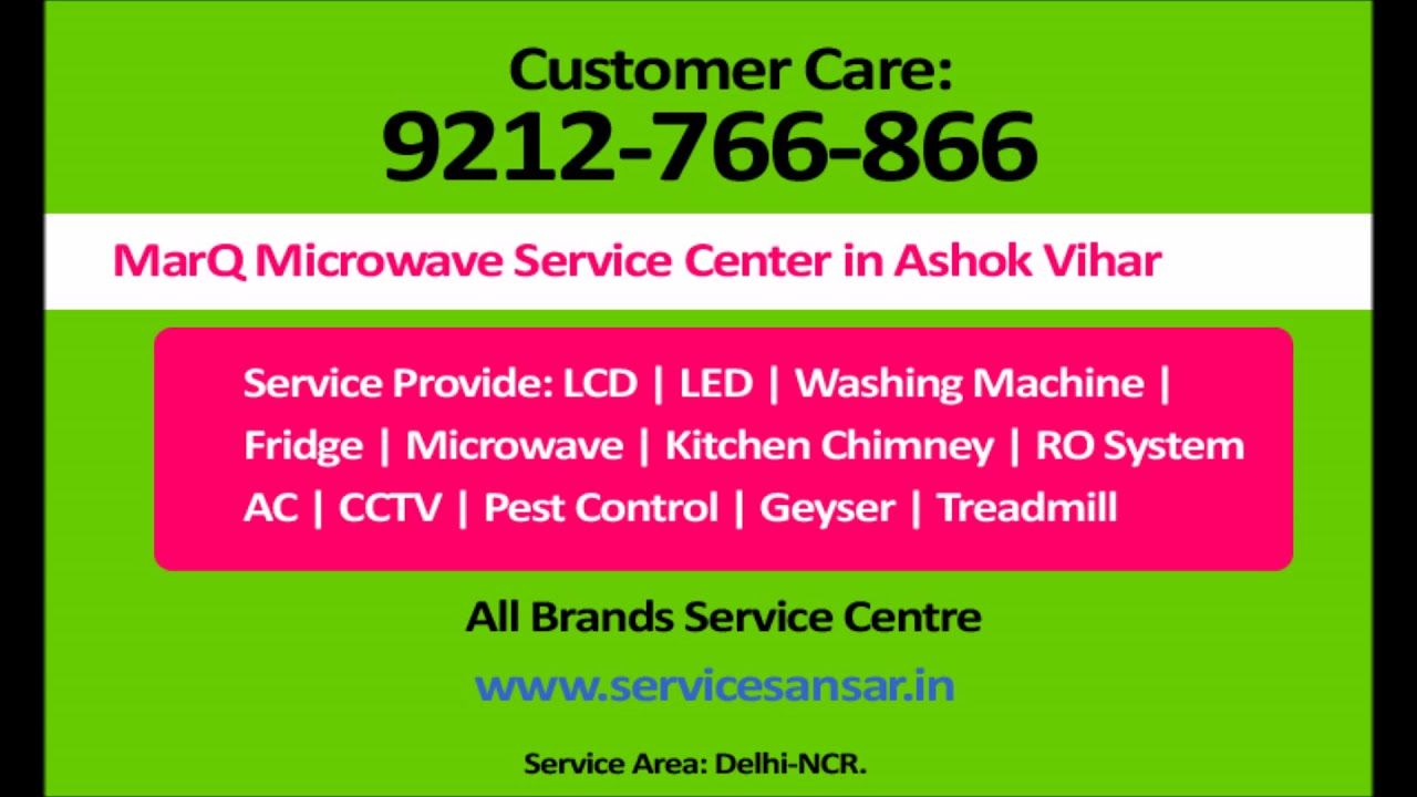MarQ Microwave Service Center in Ashok Vihar-9212766866