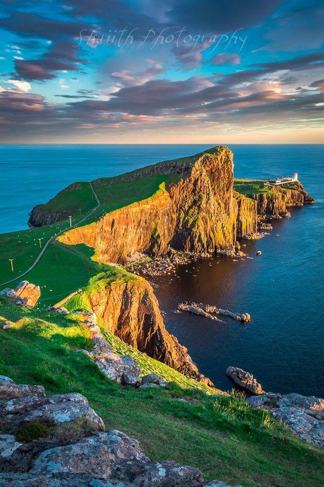 Neist Point Lighthouse on Isle of Skye by shaiith on 500px