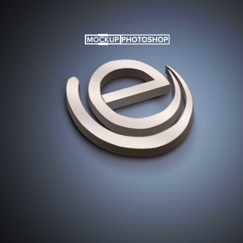 Free Download 3D Text Mockup For Any Designer #Branding #download