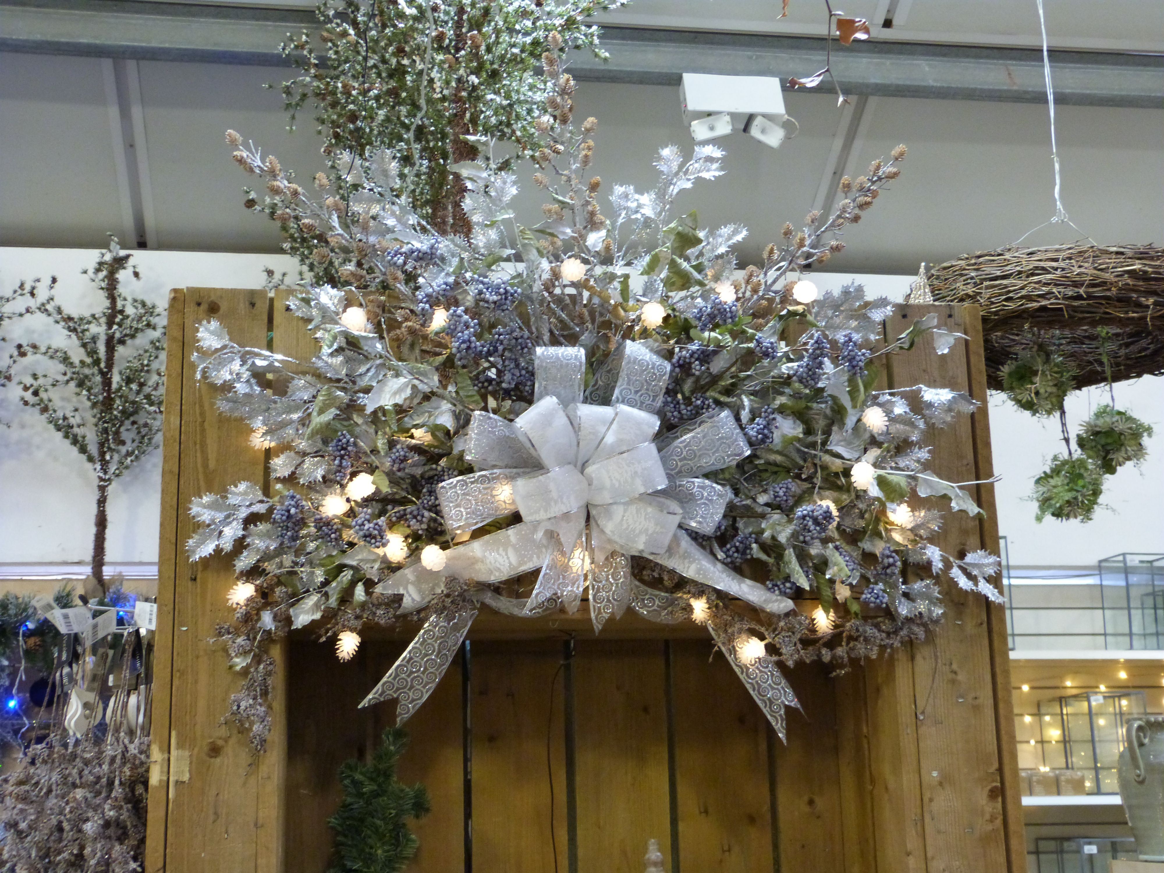 Christmas Display At Derby Garden Centre Christmas Display Holiday Decor Christmas Wreaths