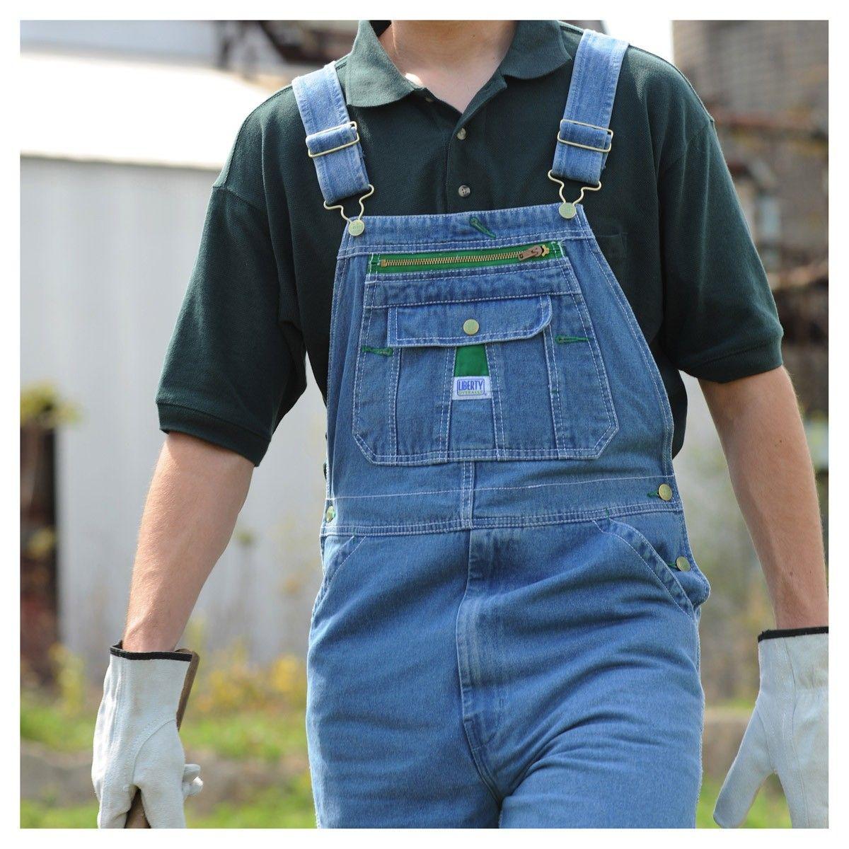 Liberty Bib Overalls For Men Liberty Mens Denim Bib Overalls