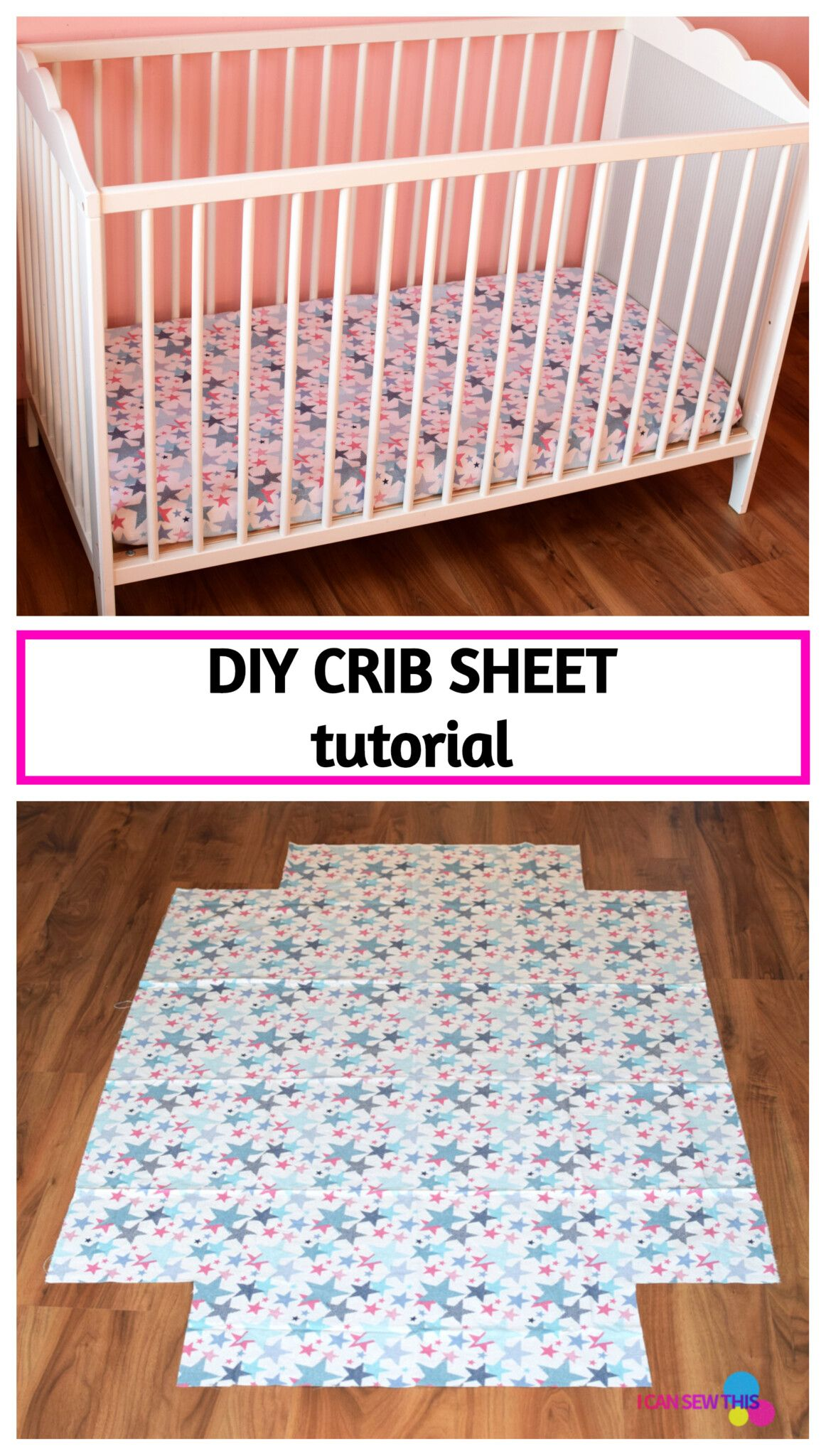 How To Make A Crib Sheet An Easy Step By Step Tutorial In 2020