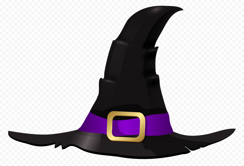 Hd Witch Hat Illustration Cartoon Clipart Halloween Png Cartoon Clip Art Witch Hat Clip Art