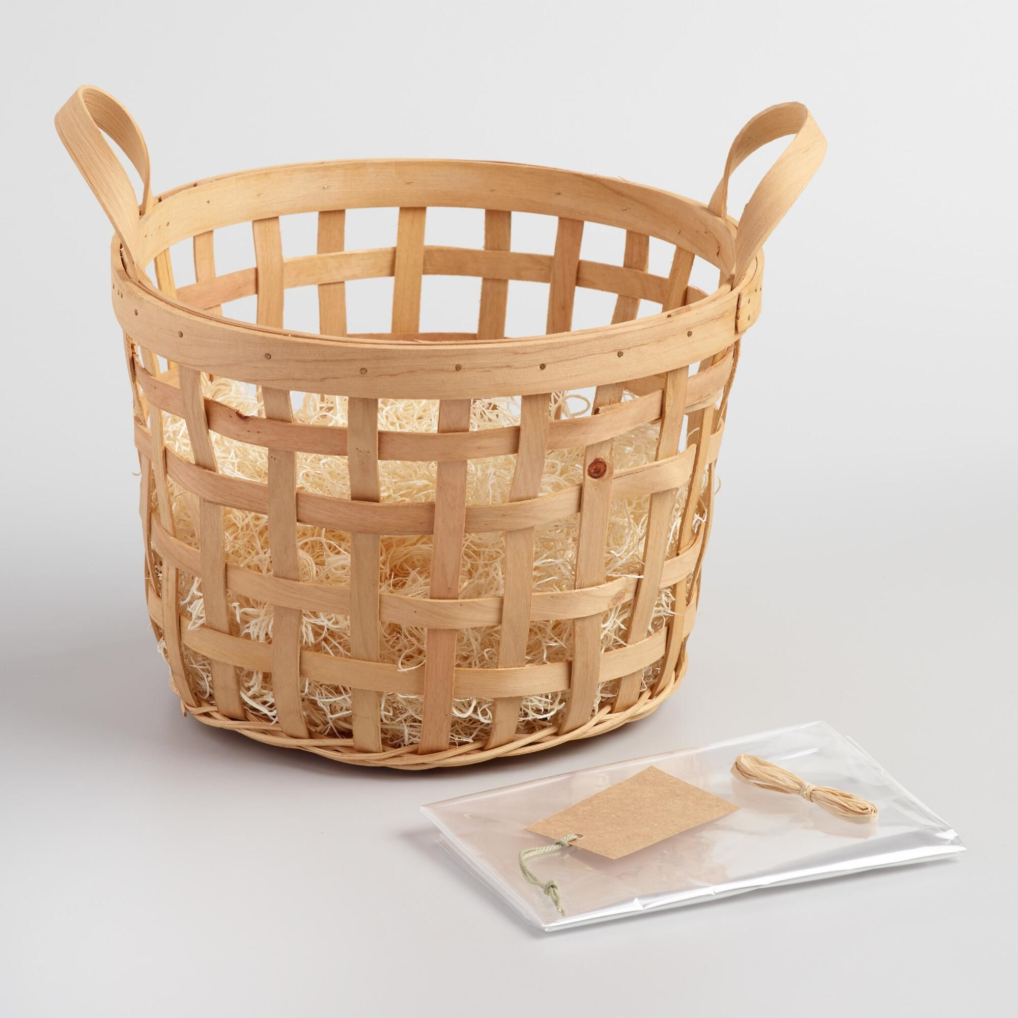 Natural Apple Basket Kit By World Market
