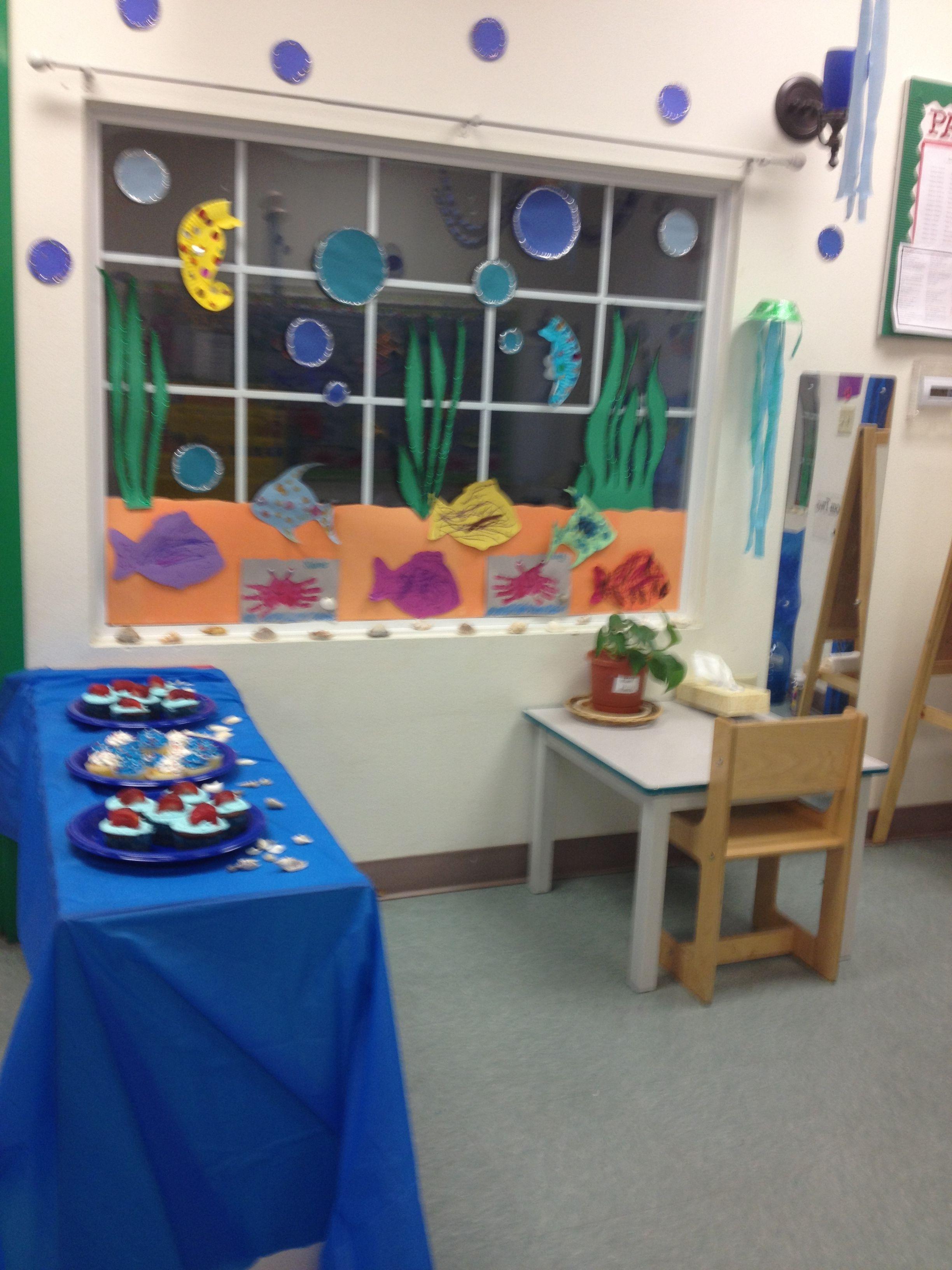 Classroom Decoration Window : Window decoration under the sea classroom decor pinterest