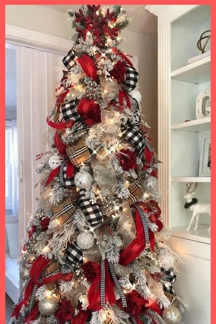 Check out How to create awesome Christmas Trees. Because a Christmas Tree lights up a house with goodwill. #christmasideas #christmasdecor #christmas #ChristmasTrees #tree #christmastree