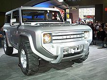 Ford Bronco Wikipedia The Free Encyclopedia Ford Bronco Ford Bronco Concept Bronco Concept