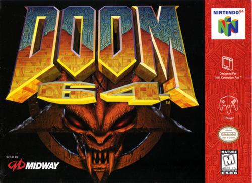 Doom 64 Doom Game Nintendo 64 Games N64 Games