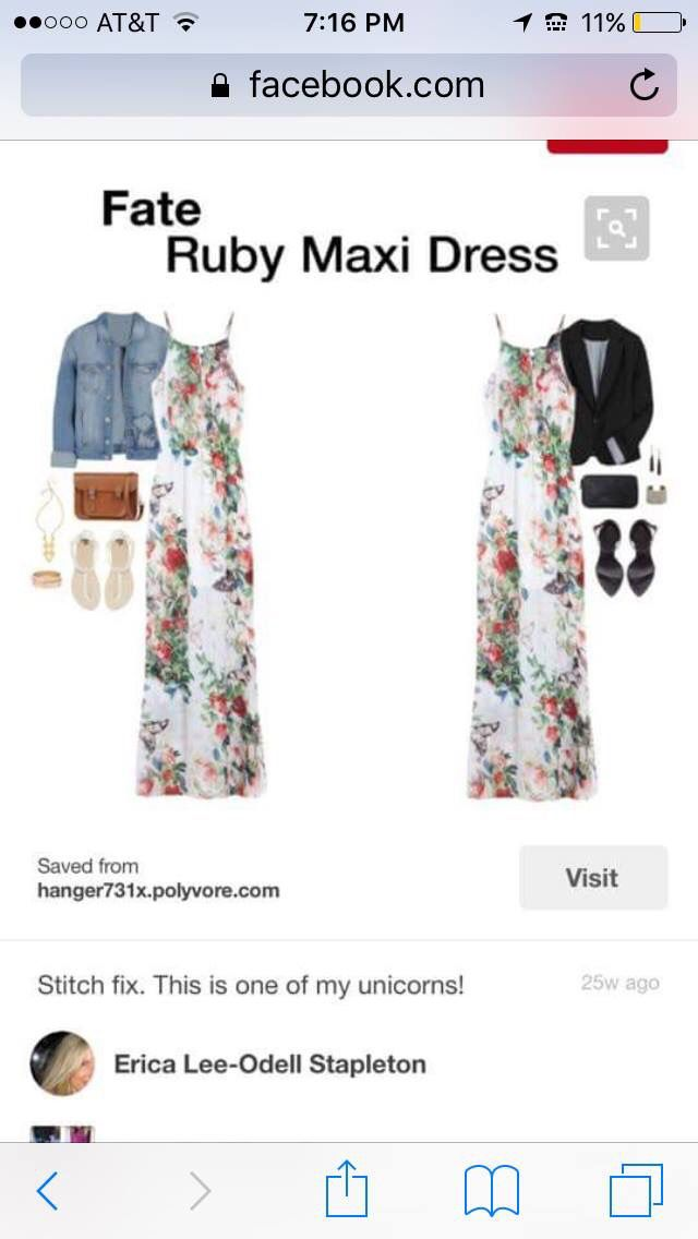 Love this with jean jacket!