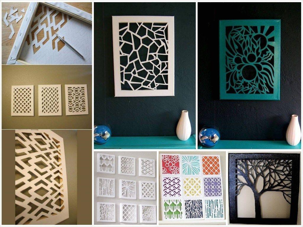 41 Beautiful Craft Room Wall Decorating Ideas Diy Art Diy Canvas Wall Art Diy Wall Art