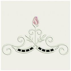 Heirloom Rose Cutwork 02(Md) machine embroidery designs