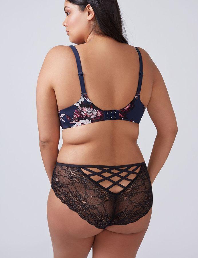 435e7cc5604 Lace Back Strappy Cheeky Panty