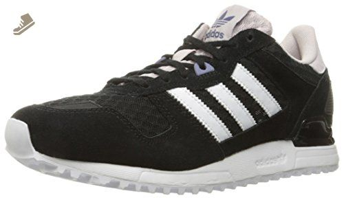 adidas Originals Women\u0027s Zx 700 W Fashion Sneaker, Black/White/Ice Purple  F16