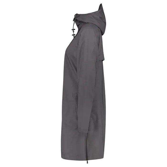 AGU SeQ Regenjacke Urban Outdoor Damen Atmungsaktives Material Schwarz