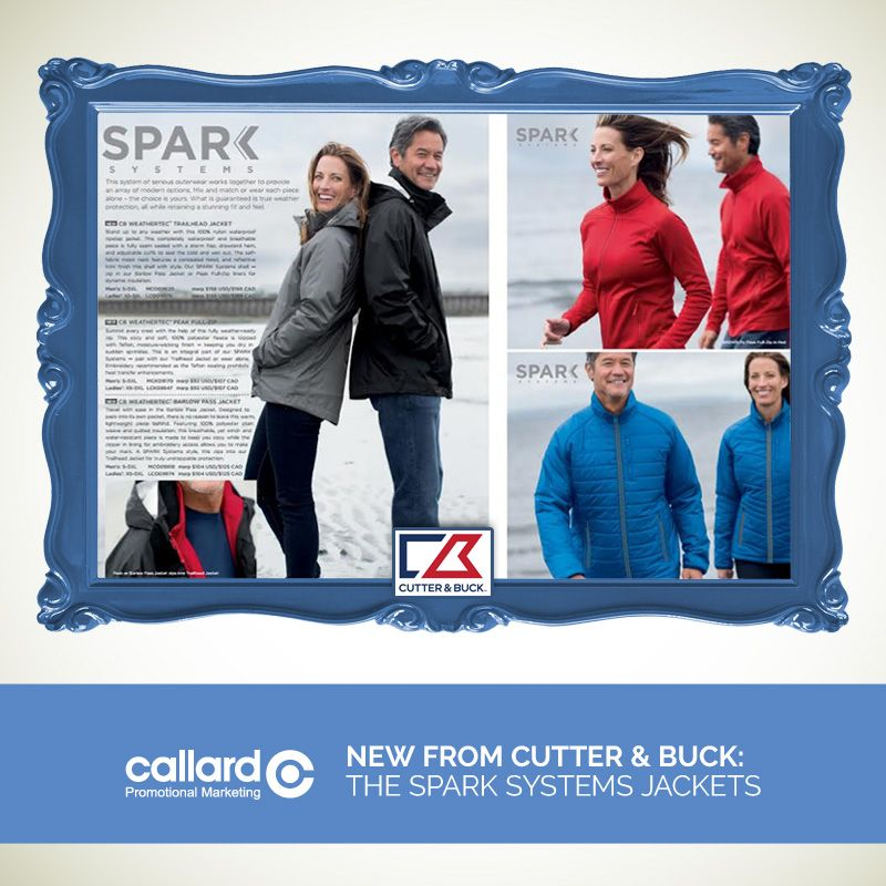 Cutter And Buck The Spark Systems Jackets Holiday Gift Ideas Promotional Marketing