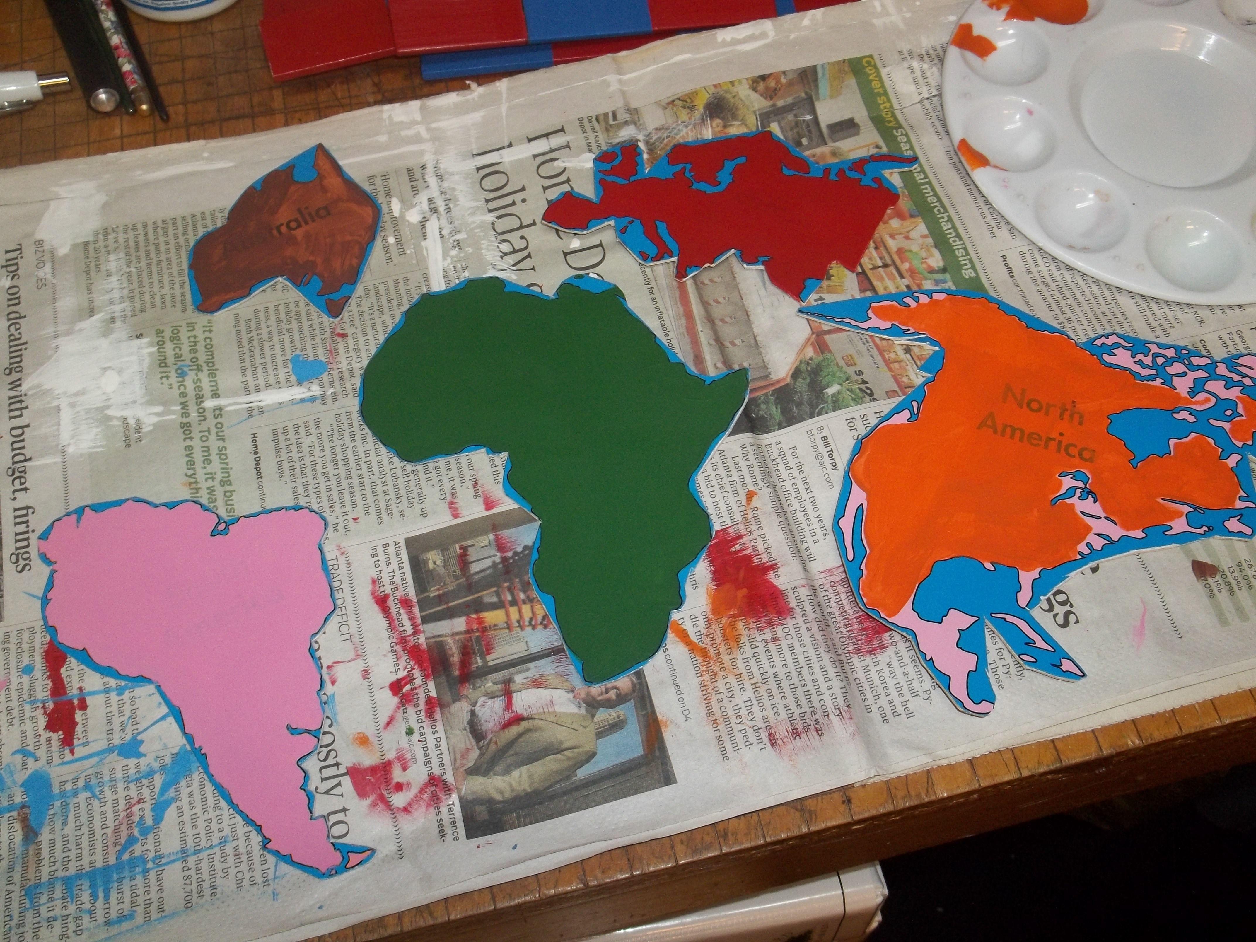 Diy montessori world continents map puzzle work in progress diy montessori world continents map puzzle work in progress gumiabroncs Gallery