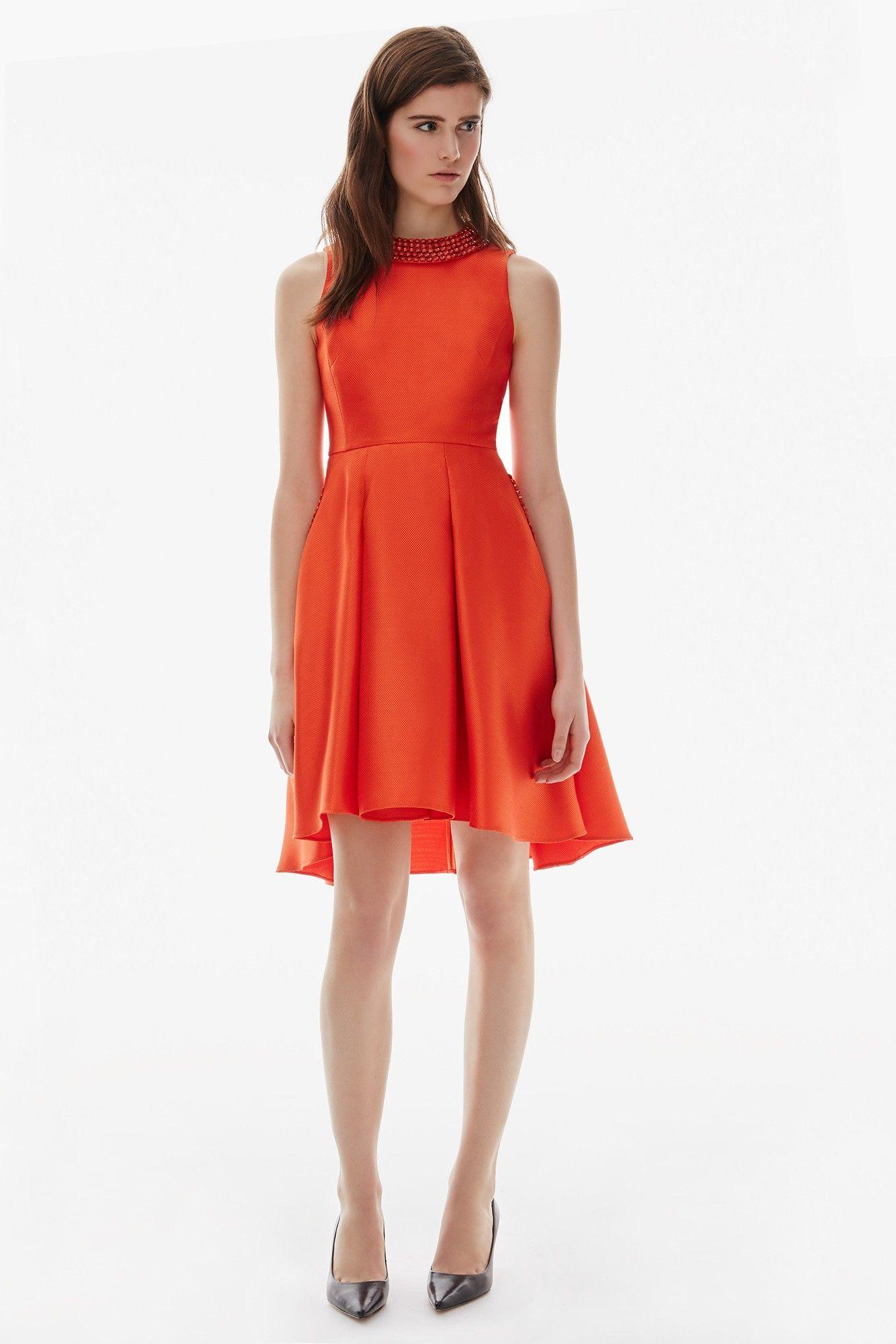 Vestido lady estilo a os 50 adolfo dominguez shop for Adolfo dominguez outlet online