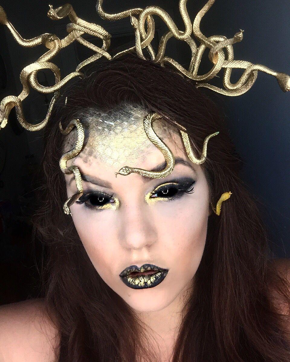 Medusa Makeup holleywood_hills Medusa halloween