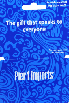 Pier 1 Imports Gift Card Balance Pier 1 Imports Is Furniture