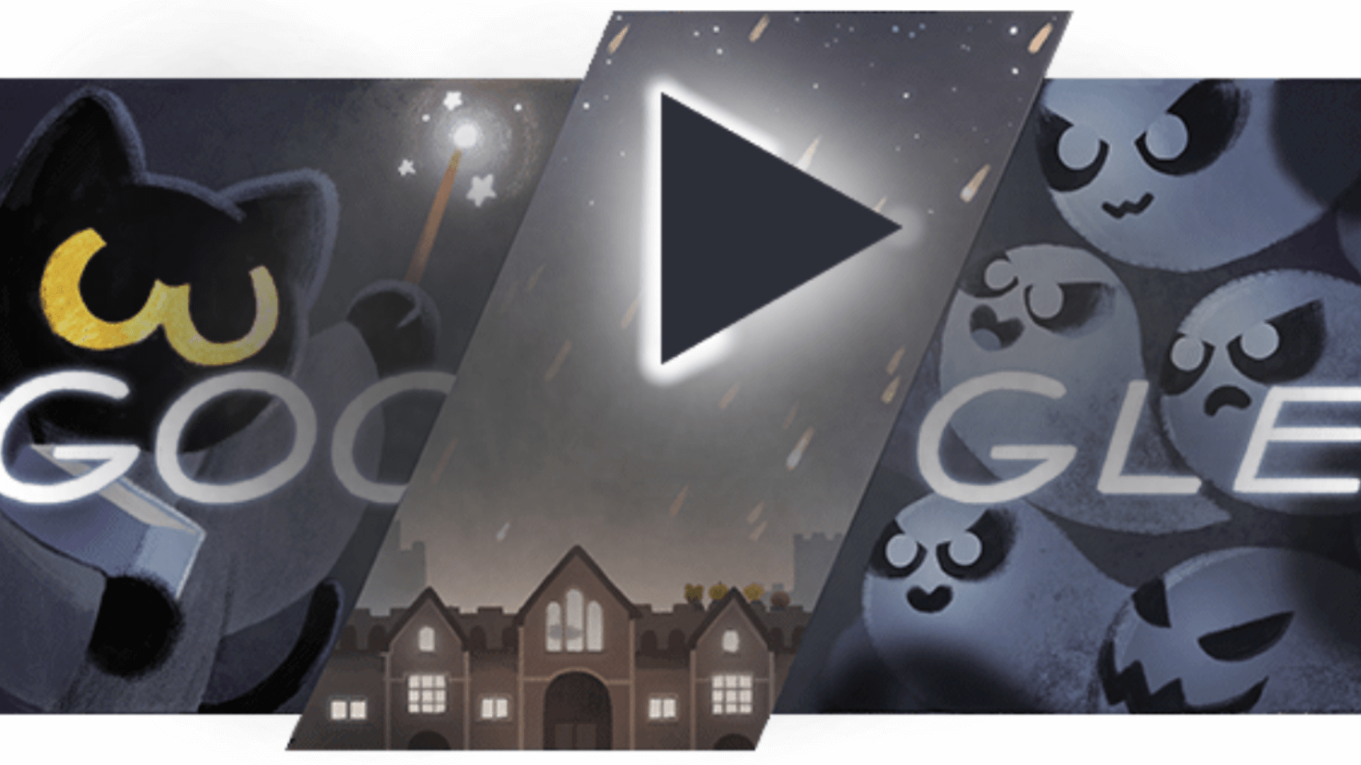 Halloween Google Doodle Treats Searchers To Magic Cat
