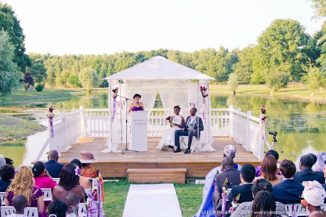 mariage africain au domaine de la butte ronde c r monie la que pinterest. Black Bedroom Furniture Sets. Home Design Ideas