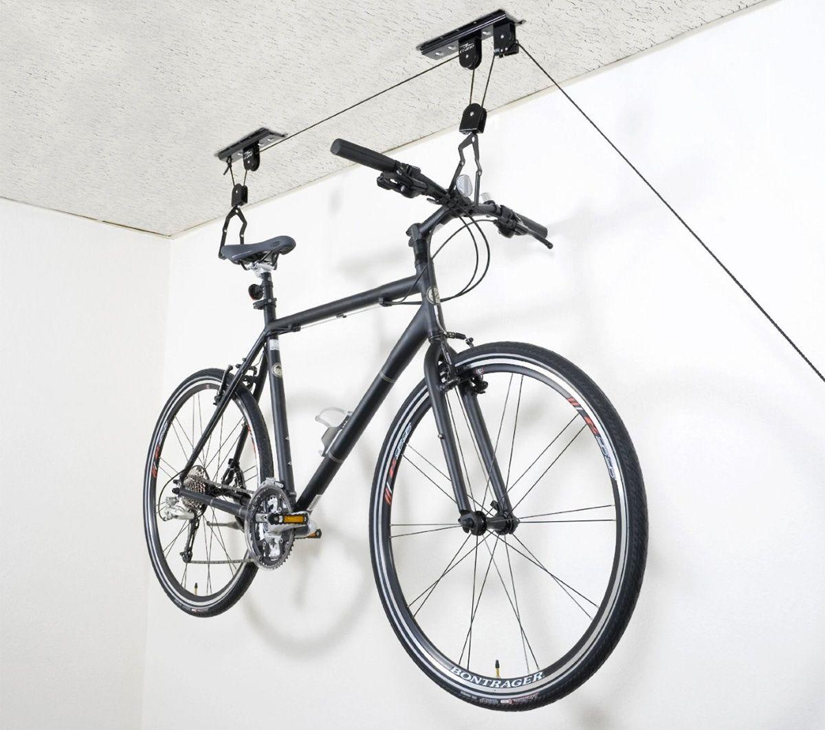 Accroche Velo avec 23 idées déco de porte-vélo | plafond, systeme et suspendu