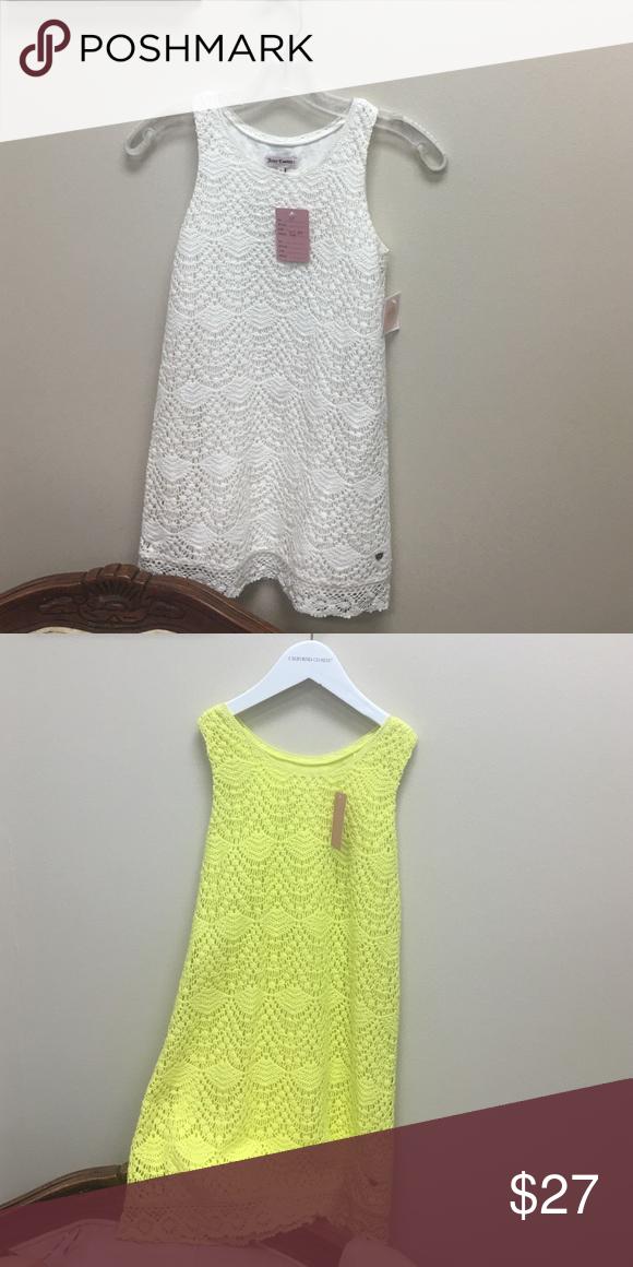 Authentic Juicy Couture Crochet lace dress Juicy Couture Dresses Casual