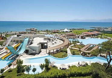 Dag 4: Week vakantie in Belek. All inclusive op het Ela Quality Resort (Hotel), Turkije. Heerlijk eten, geweldig waterpark, direct aan het strand. Relaxen, opladen en golfen. €4000