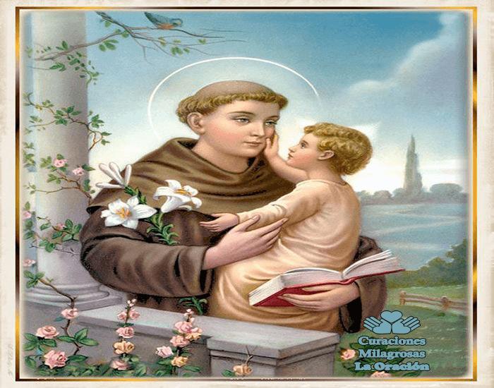 Oración Milagrosa a San Antonio de Padua para causas Imposibles   http://goo.gl/mqLKvP