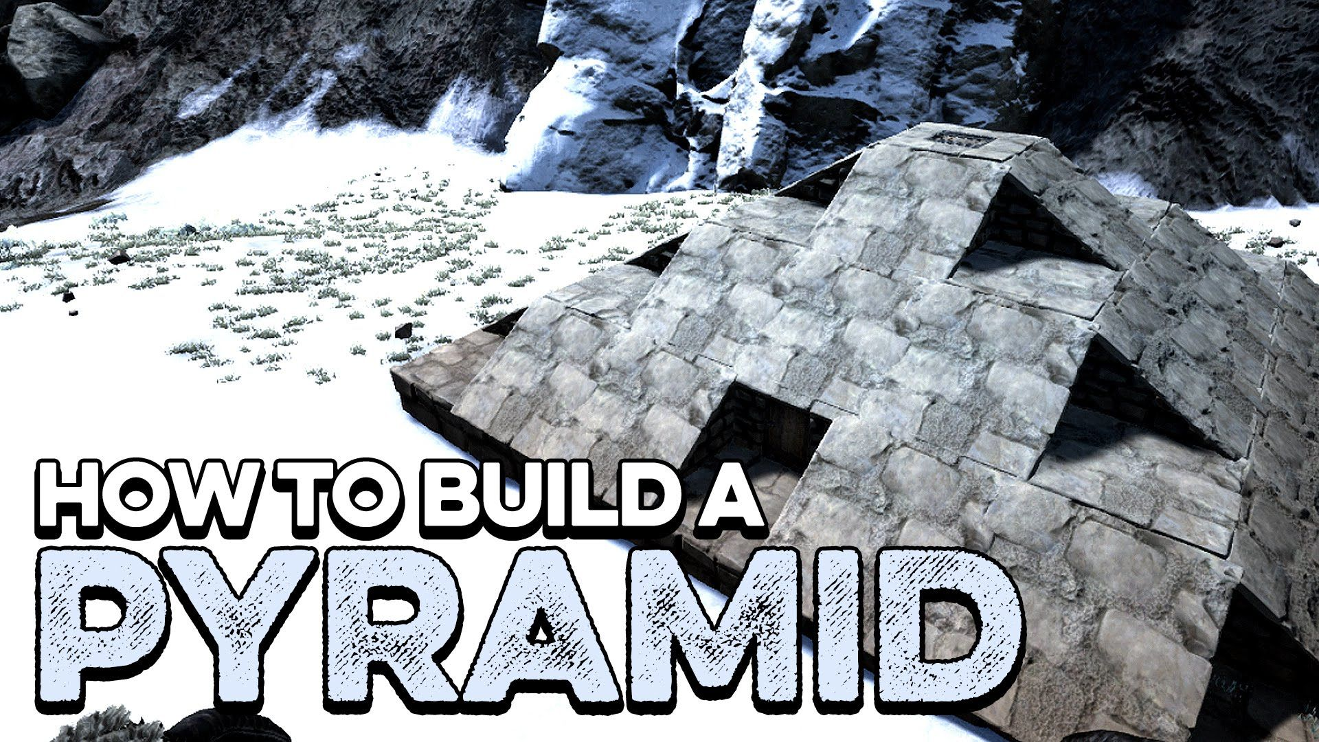 How to build a pyramid base ark survival evolved tutorial guide how to build a pyramid base ark survival evolved tutorial guide youtube gaming pinterest malvernweather Images