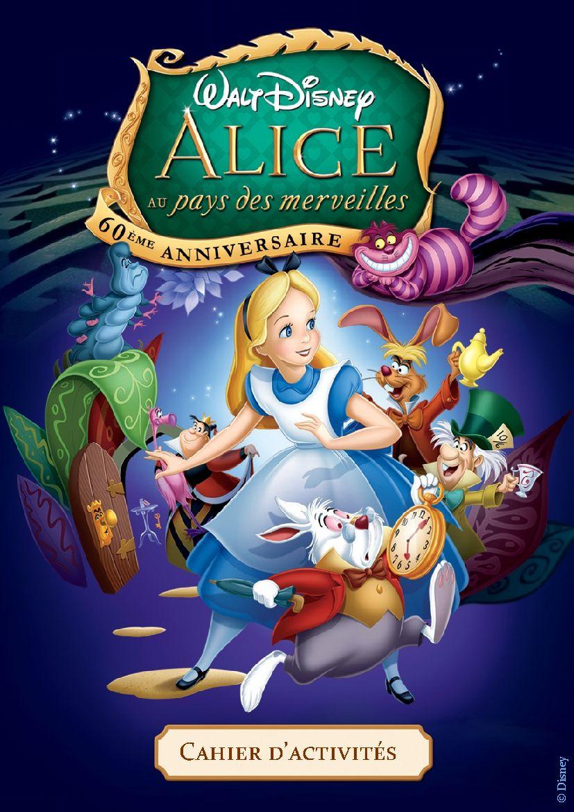 Coloriage d Alice au pays des merveilles