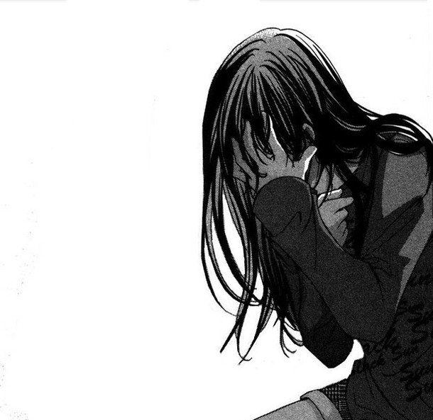 Cry Your Heart Out Broken Girls Anime Girl Crying Manga Girl