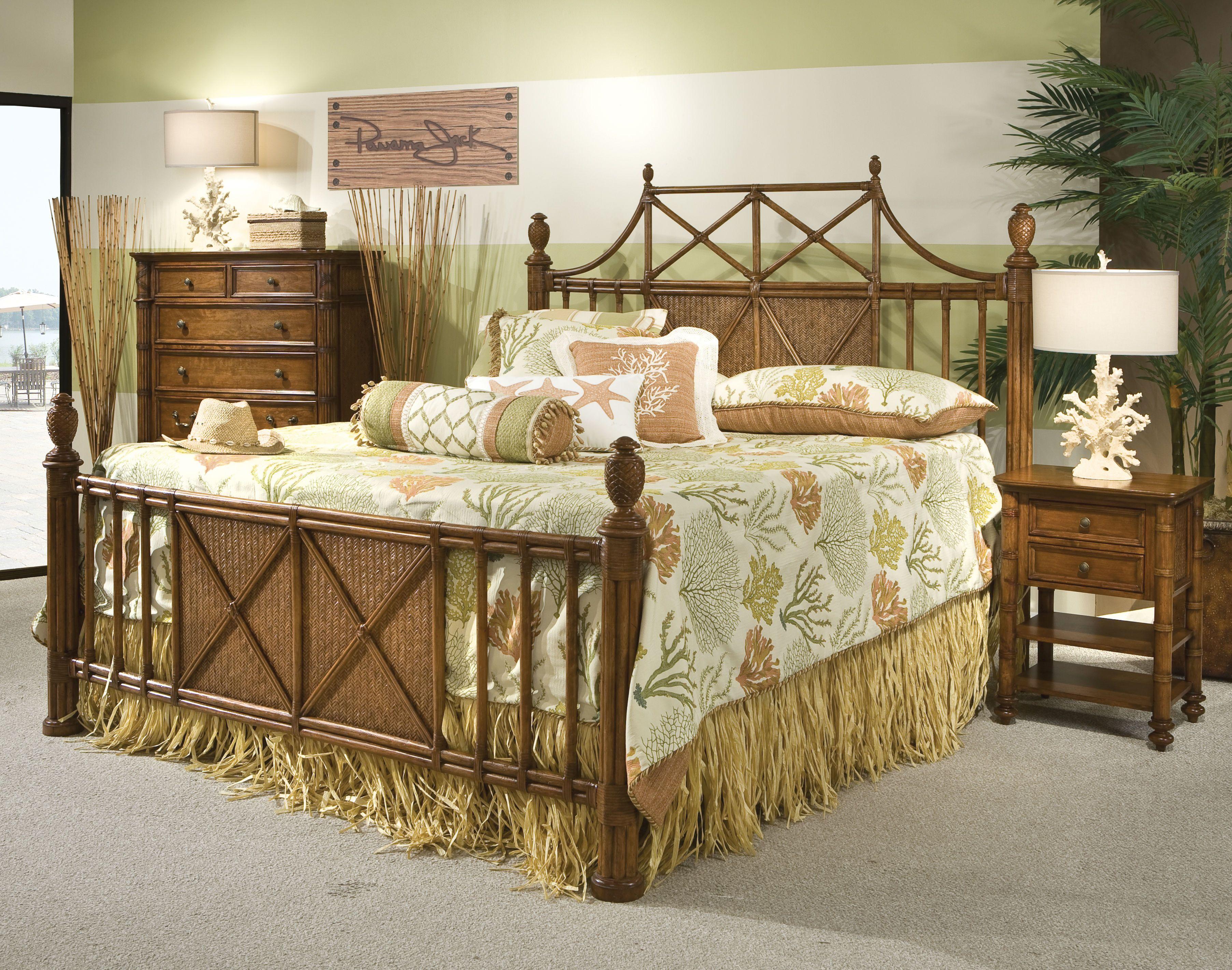 Panama Jack Collections Island Breeze Palmetto Home Tropical - Panama jack bedroom furniture