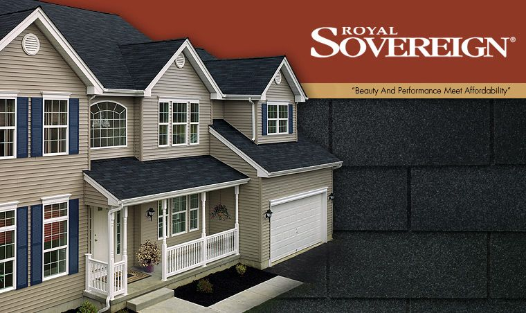 Gaf Royal Sovereign Roofing Shingles Roof Styles Shingling Roofing