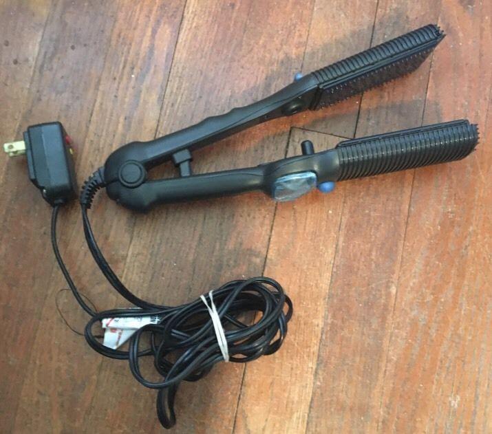 Maxius Maxiglide Professional Steam Burst 2 Flat Iron Hair Straightener Mx 597 Ebay