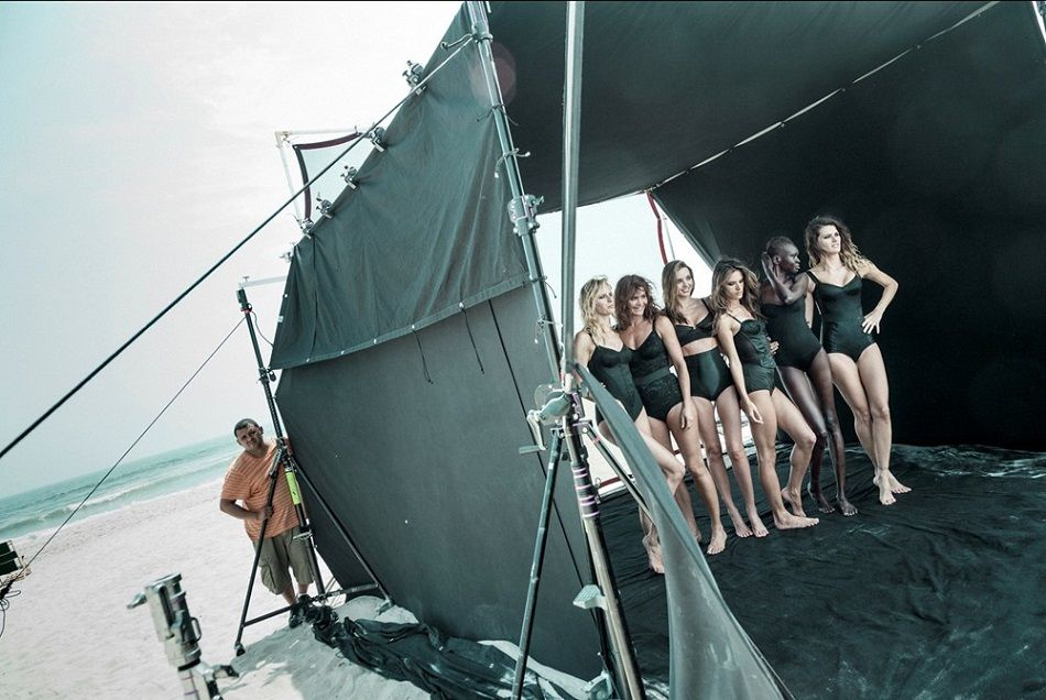 """""""I love the Pirelli Calendar 50th anniversary commemoration photoshoot by Patrick Dermachelier and Peter Lindbergh."""""""