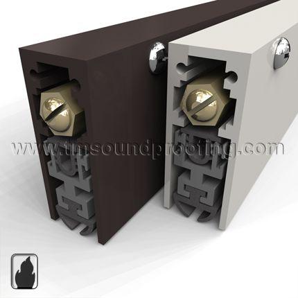 Soundproof Door Bottom 54 28 Sound Proofing Automatic Door Doors And Floors