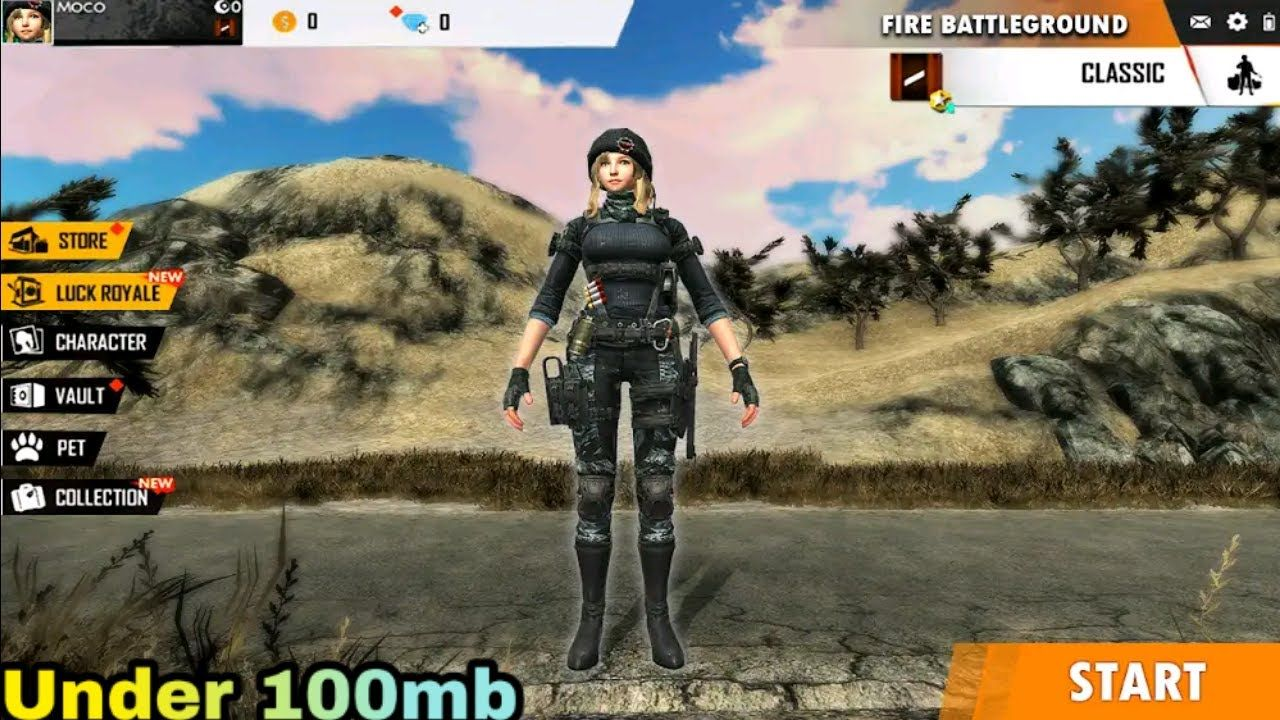 Battle Royale Games Like Pubg And Freefire Under 100mb 2020 In 2020 Battle Royale Game Battle Adventure Games For Android