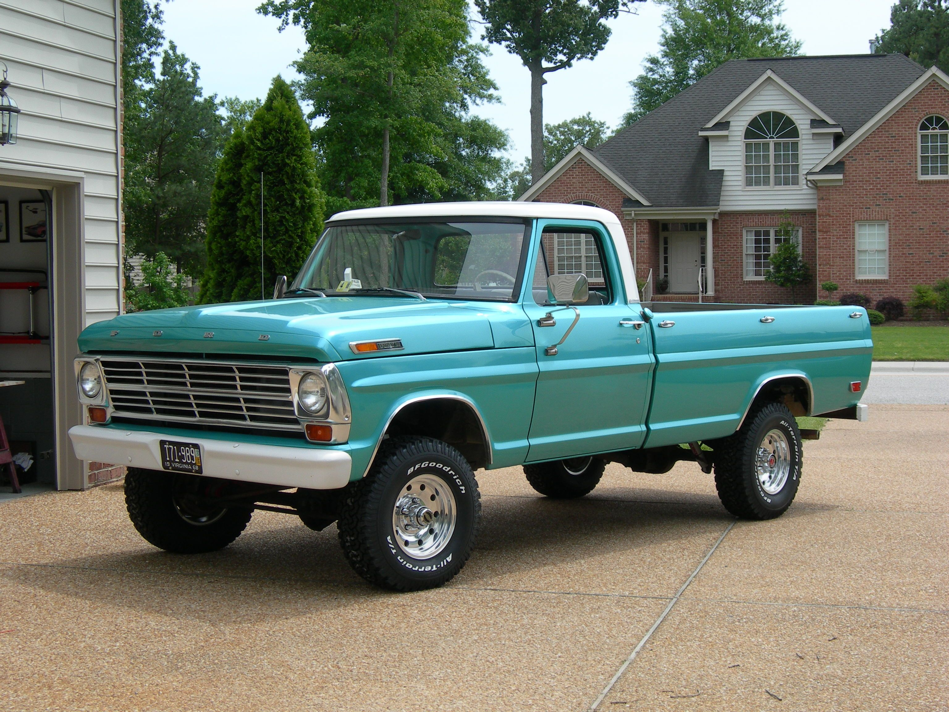68 ford 4x4 f100 ours was a 3 4 ton f250