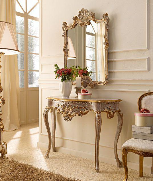Mobili consolle classiche e di lusso in stile veneziano e for Mobili di lusso outlet