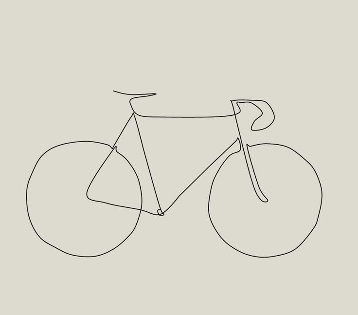 Picasso Line Drawing Tattoo : Picasso inspired bike drawing the paceline forum art