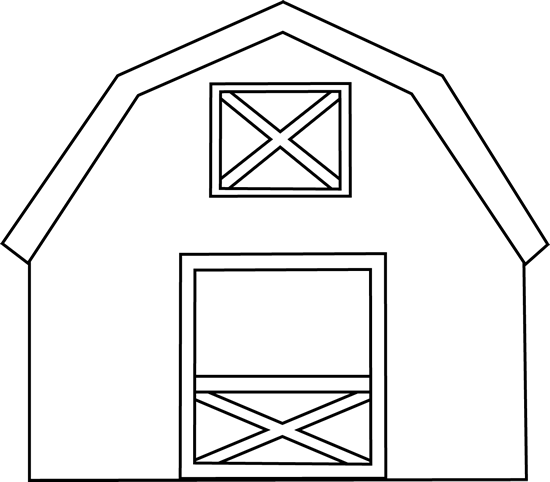 Black And White Barn Clip Art Black And White Barn Image Barn Crafts Farm Animal Coloring Pages Barn Quilt Patterns