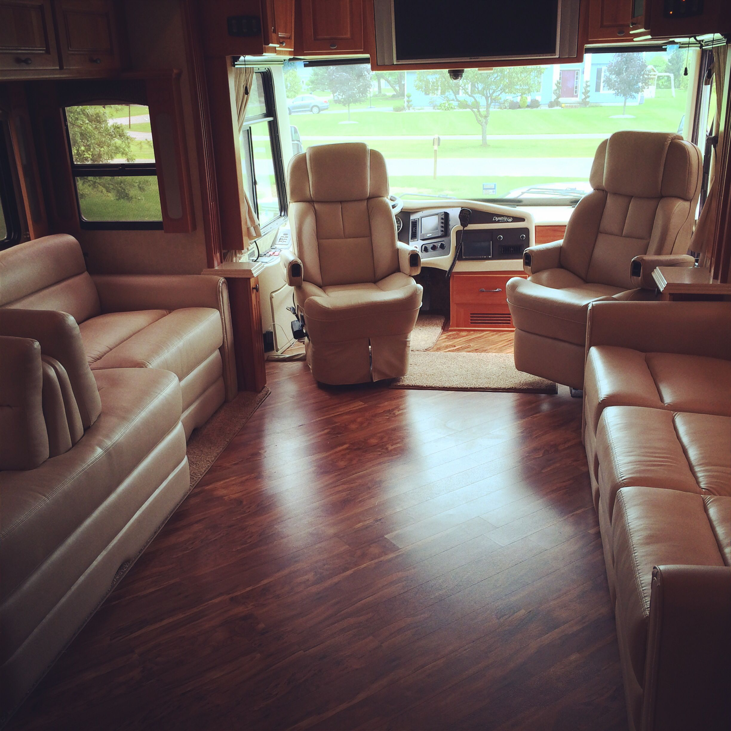 A new set of Rv Captains Chairs for a 2008 Monaco Dynasty They