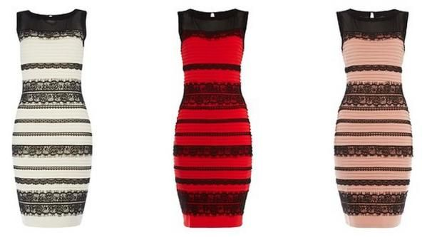 Red n black dress gold